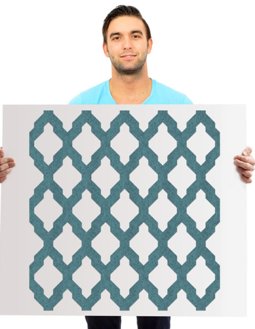 felty Filz Wandpaneele Omar mit orientalischem Muster