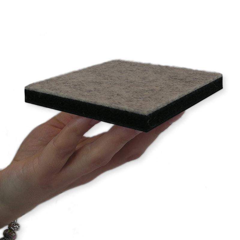 felty Filz Pinnwand Material Quadrat