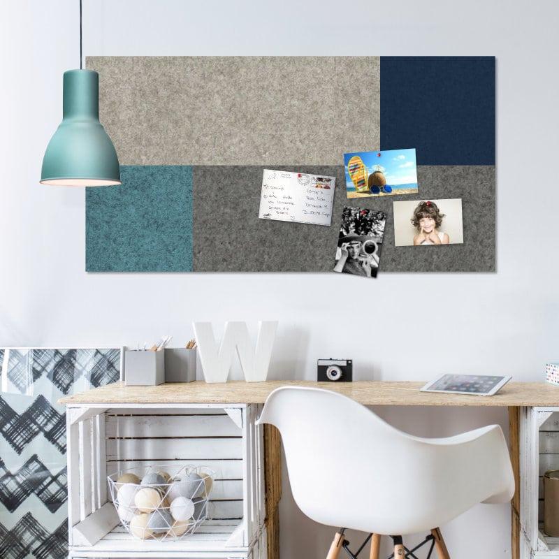 neuheit filz pinnwand flex in individueller ma anfertigung felty. Black Bedroom Furniture Sets. Home Design Ideas