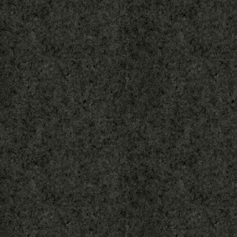 felty Filz Meterware Pure Wollfilz 1 mm Melange Standard A10 Schwarz meliert