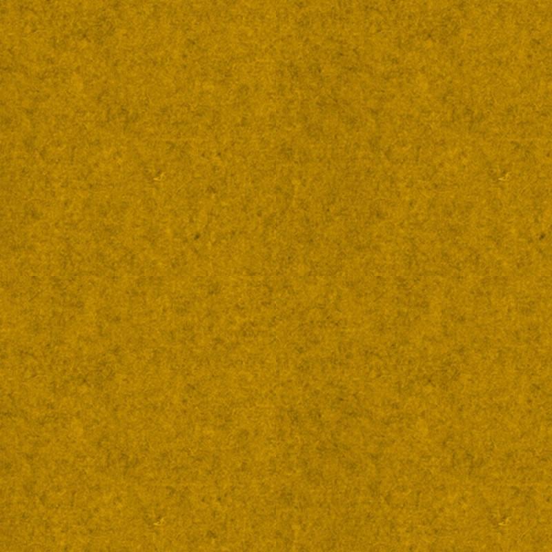 felty Filz Meterware Pure Wollfilz 1 mm Melange Standard A12 Senfgelb meliert