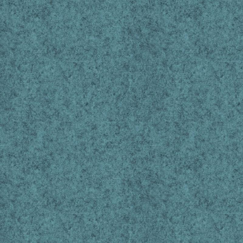 felty Filz Meterware Pure Wollfilz 1 mm Melange Standard A15 Pazifik meliert