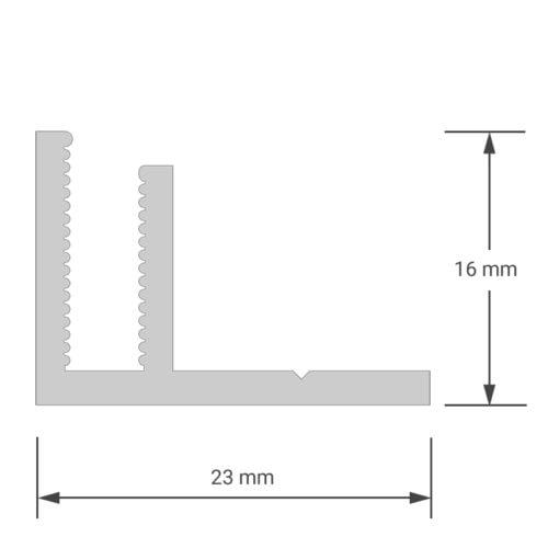 felty-Aluminiumprofil-Frame-F_Schnitt