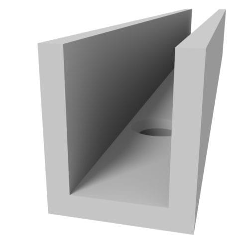 felty-Aluminiumprofil-Frame-U-Ansicht-01