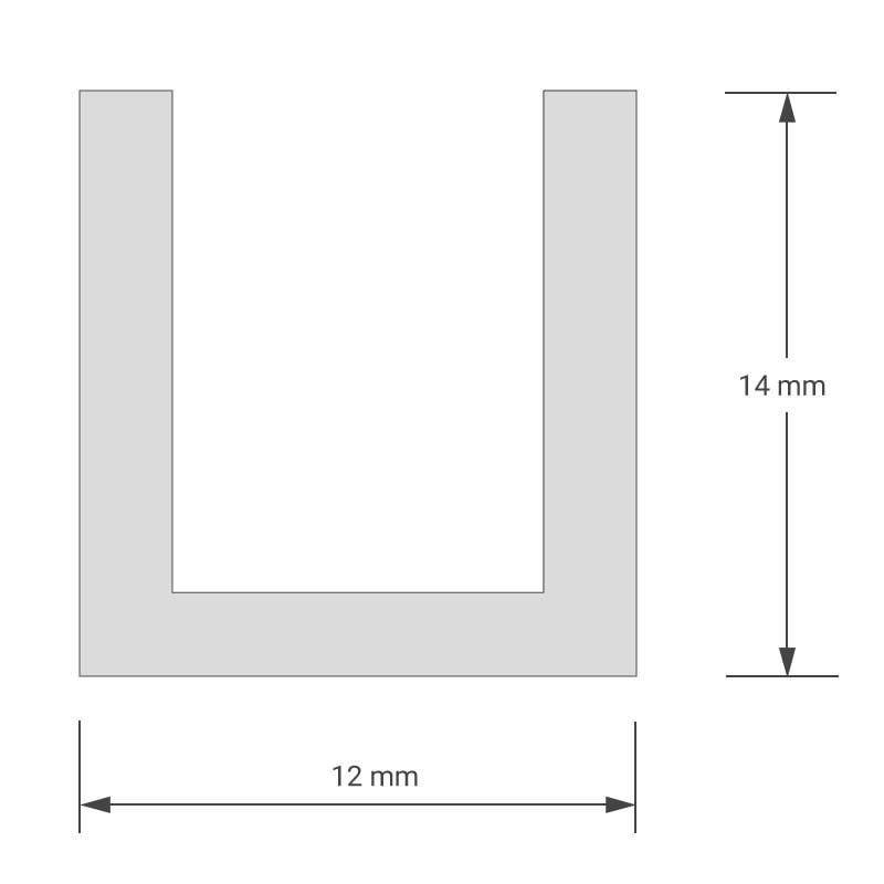 felty-Aluminiumprofil-Frame-U-Schnitt-Masse-01